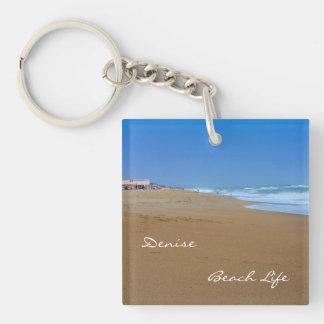 Porte-clés La belle vie de Plage-Plage par Shirley Taylor