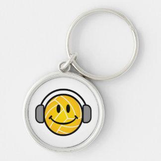 Porte-clés La boule de polo de l'eau avec la tête téléphone