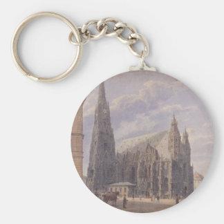Porte-clés La cathédrale de St Stephen à Vienne par Vo de