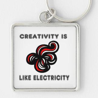 """Porte-clés La """"créativité est porte - clé de la meilleure"""