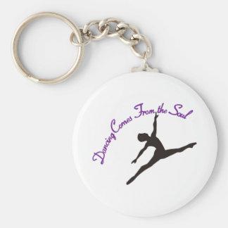 Porte-clés La danse vient de l'âme