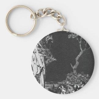 Porte-clés La folie de la crainte par Francisco Goya