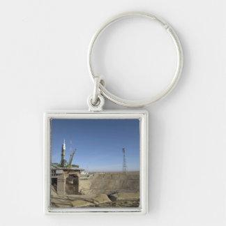 Porte-clés La fusée de Soyuz est érigée en le place 5