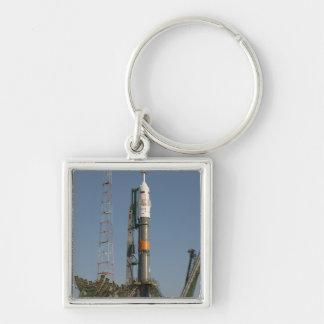 Porte-clés La fusée de Soyuz peu de temps après l'arrivée