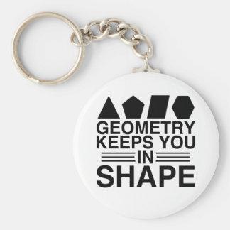 Porte-clés La géométrie vous maintient dans la plaisanterie
