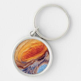 Porte-clés La grande tache rouge de Jupiter - photo de la