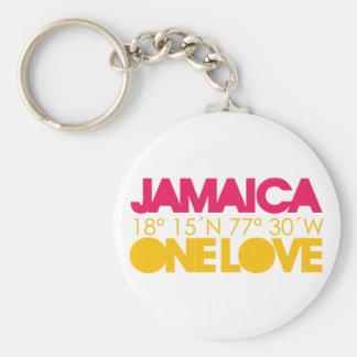 Porte-clés La Jamaïque un porte - clé d'amour