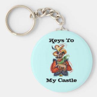 Porte-clés La personnaliser colorée de ~ de cowboy de ~ de
