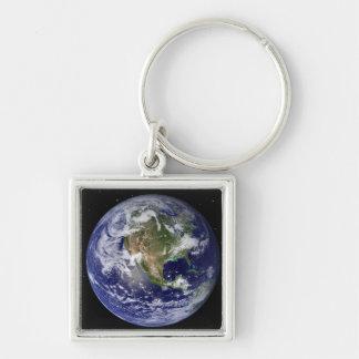 Porte-clés La pleine terre montrant l'Amérique du Nord 4
