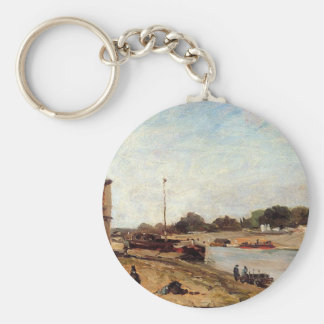 Porte-clés La Seine vis-à-vis du quai De Paul Gauguin passy