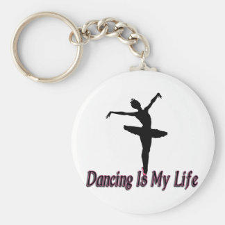 Porte-clés La vie de danse