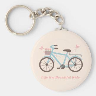 Porte-clés La vie élégante est une belle citation de