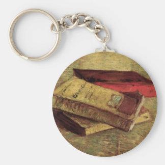 Porte-clés La vie toujours avec trois livres par Vincent van