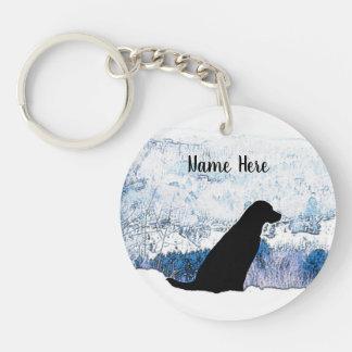 Porte-clés Labrador noir - Mountain View