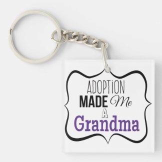 Porte-clés L'adoption m'a fait une grand-maman