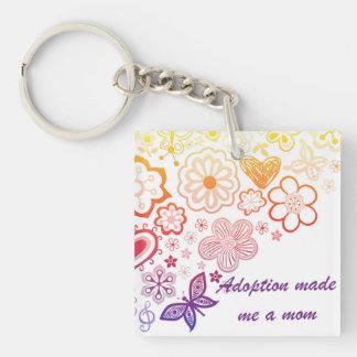 Porte-clés L'adoption m'a fait une maman