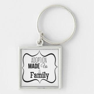 Porte-clés L'adoption nous a fait une famille