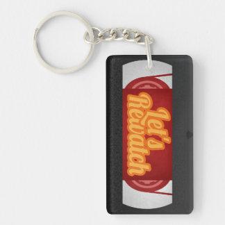 Porte-clés Laissez-nous porte - clé de Rewatch