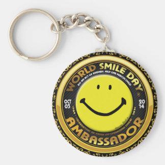 Porte-clés L'Ambassadeur 2014 officiel de Day® de sourire du