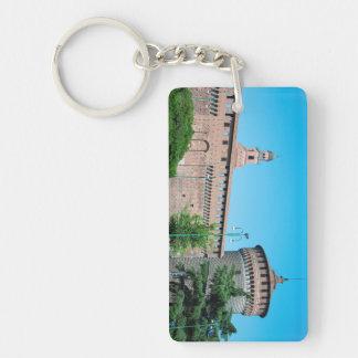 Porte-clés Landm d'architecture de l'Italie Milan de tour de