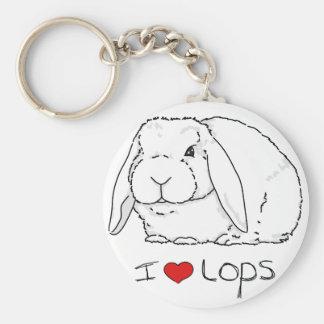 Porte-clés Lapin de Lop