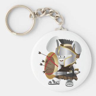Porte-clés Lapin romain de soldat