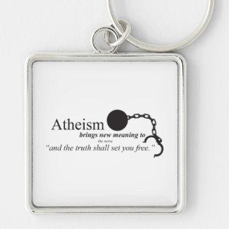 Porte-clés L'athéisme apporte la nouvelle signification