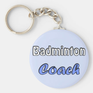 Porte-clés Le badminton instruis