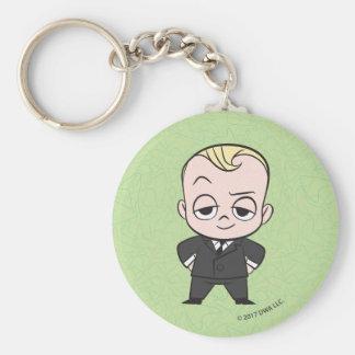 Porte-clés Le bébé de patron | je ne suis aucun bébé
