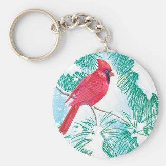 Porte-clés Le cardinal -