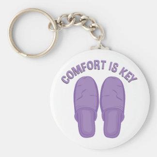 Porte-clés Le confort est clé