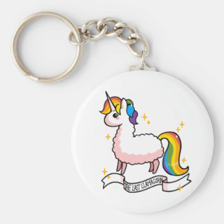 Porte-clés Le dernier Llamacorn
