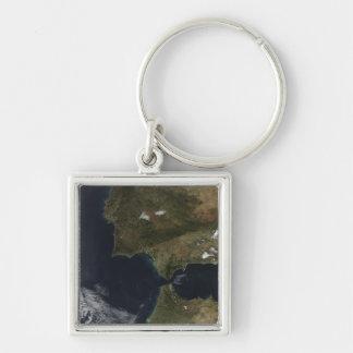 Porte-clés Le détroit du Gibraltar