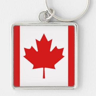 Porte-clés Le drapeau de feuille d'érable du Canada