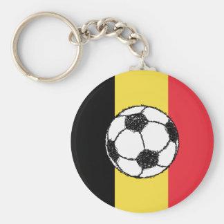Porte-clés Le football de la Belgique
