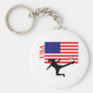 Porte-clés Le football Etats-Unis des femmes
