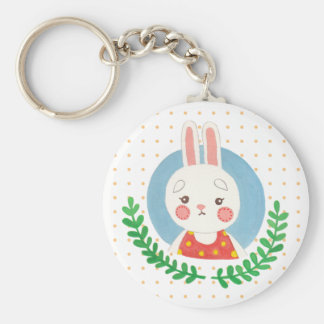 Porte-clés Le lapin mignon