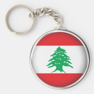 Porte-clés Le Liban rond