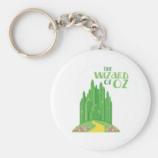 Porte-clés Le magicien d'Oz