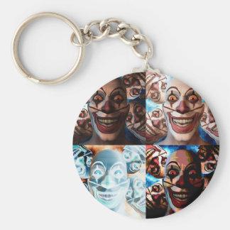 Porte-clés Le mal fait le clown des bonbons ou un sort ?