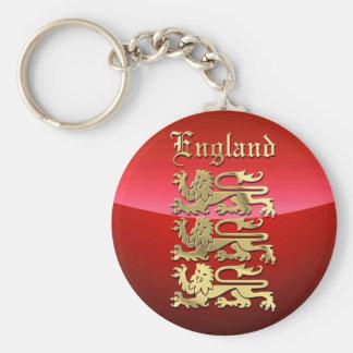 Porte-clés Le manteau de l'Angleterre des bras