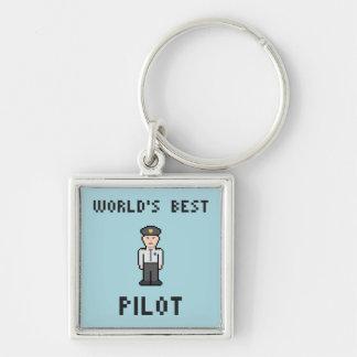 Porte-clés Le meilleur pilote du monde