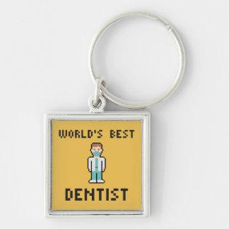 Porte-clés Le meilleur porte - clé du dentiste du monde