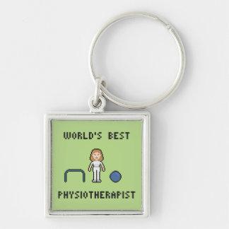 Porte-clés Le meilleur porte - clé du physiothérapeute des 8