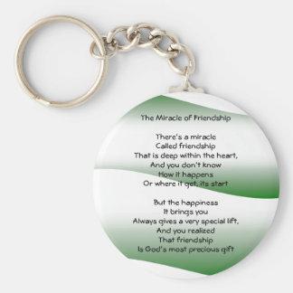 Porte-clés Le miracle du porte - clé d'amitié
