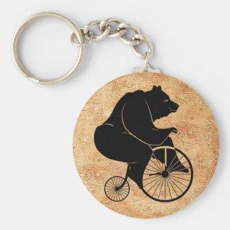 Porte-clés Le noir concernent le vélo vintage