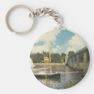 Porte-clés Le pont en route à Argenteuil par Claude Monet