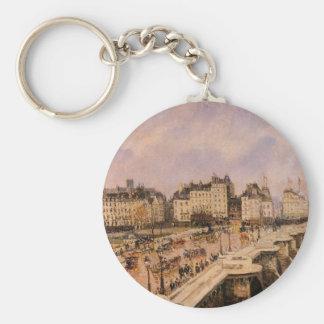 Porte-clés Le Pont Neuf par Camille Pissarro