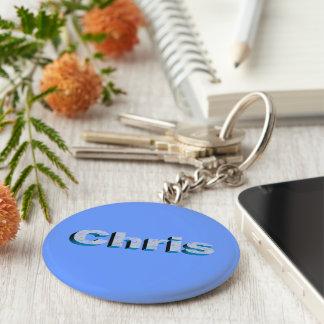 Porte-clés Le porte - clé bleu de Chris