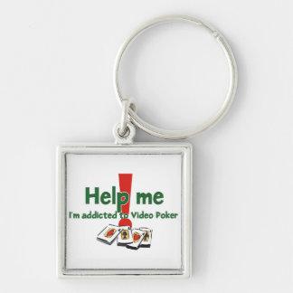 Porte-clés Le porte - clé de l'intoxiqué visuel de tisonnier